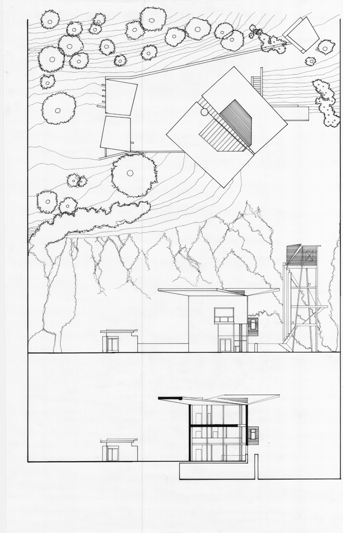 how to draw elevation plans by hand