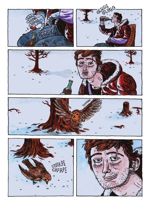 'House of Freaks' Graphic Novel - Jamie Coe Illustration